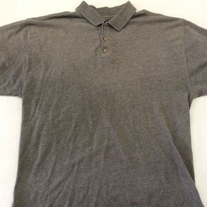 Tommy Bahama Polo Shirt Embroidered Logo Brown XL